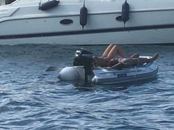 Sunbathing Menorca Style