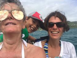 Out into the Caribeean Sea