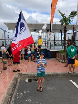 ARC+ Flag bearing for the Kids