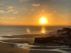 Moana Sunrise after Storm Francis - Tenb