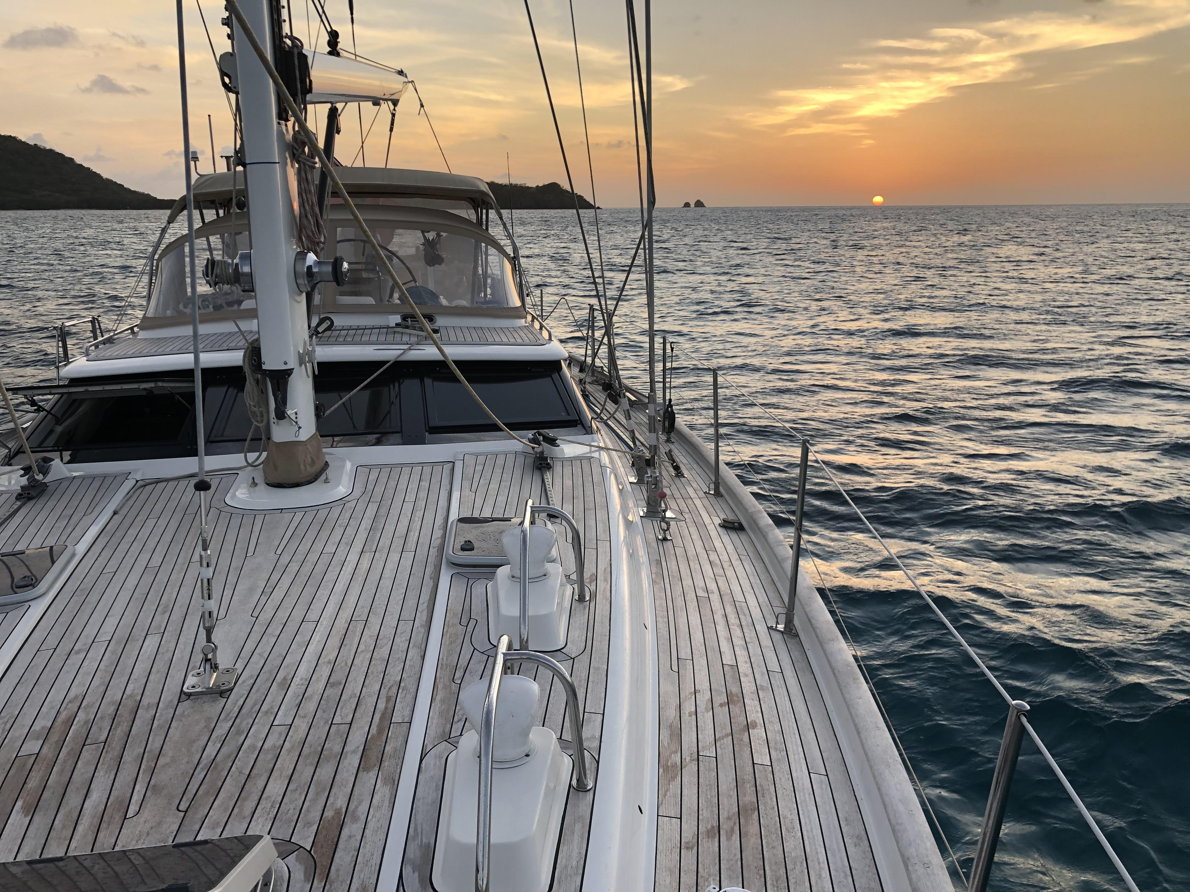 Sunset at Sandy Island