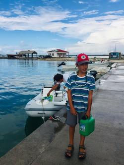 The Dock in the Codrington Lagoon