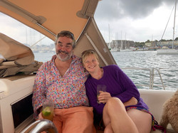 Hairy and Vicky in Falmouth