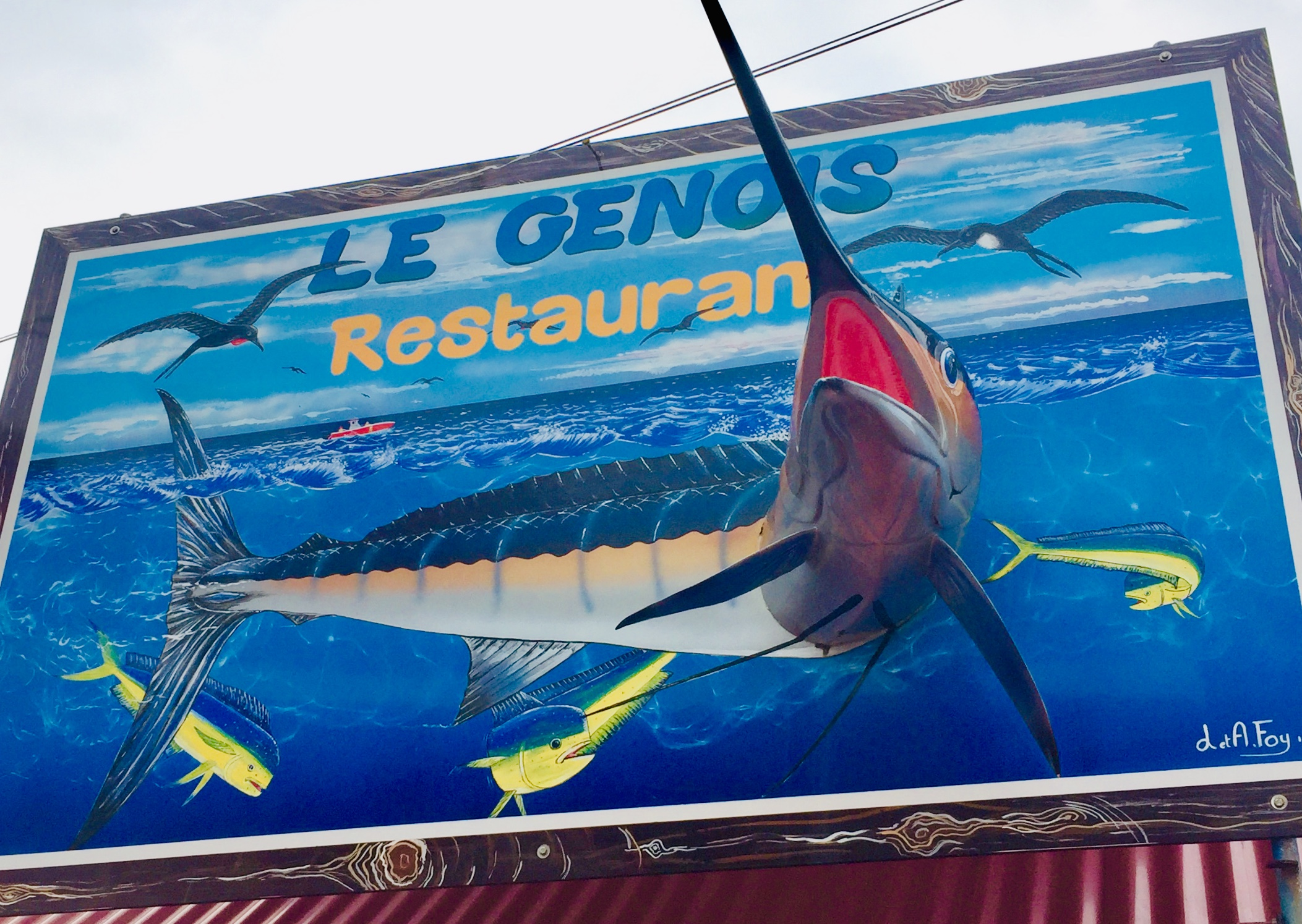 Swordfish comin at yer