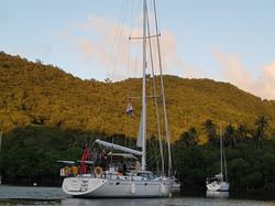 Settled in Marigot Bay