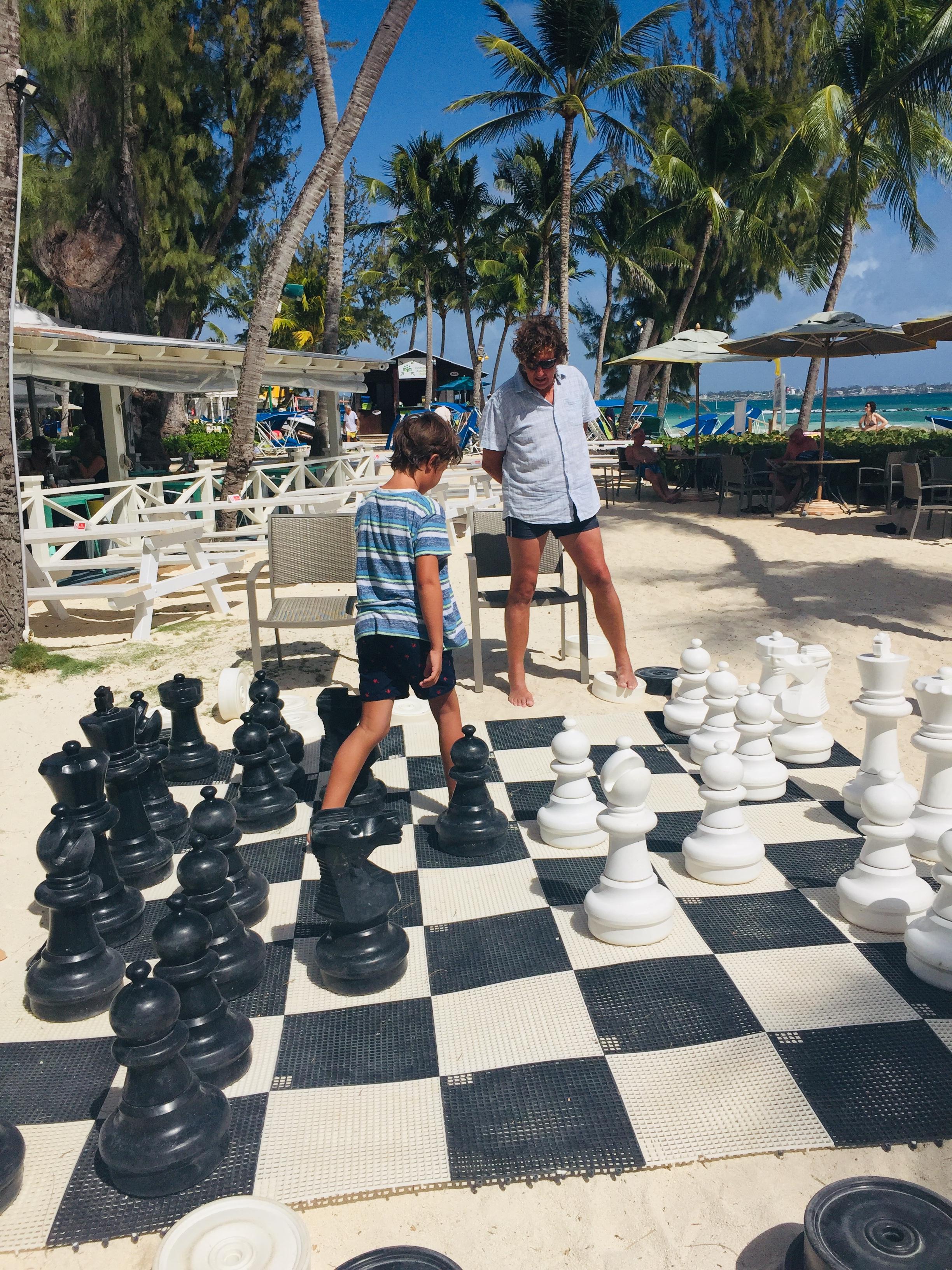 The Beach Chess Challenge