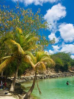 Lagoon at Anse Mitan