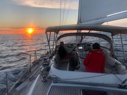 Night 1 at Sea