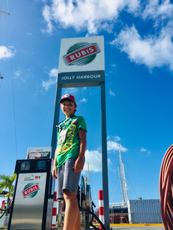 Tender Fuel Stop