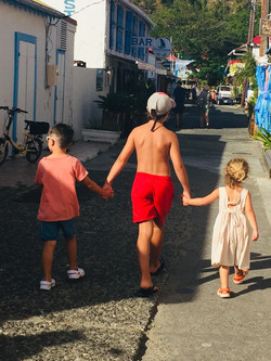 The Backstreet in Bourg Des Saintes