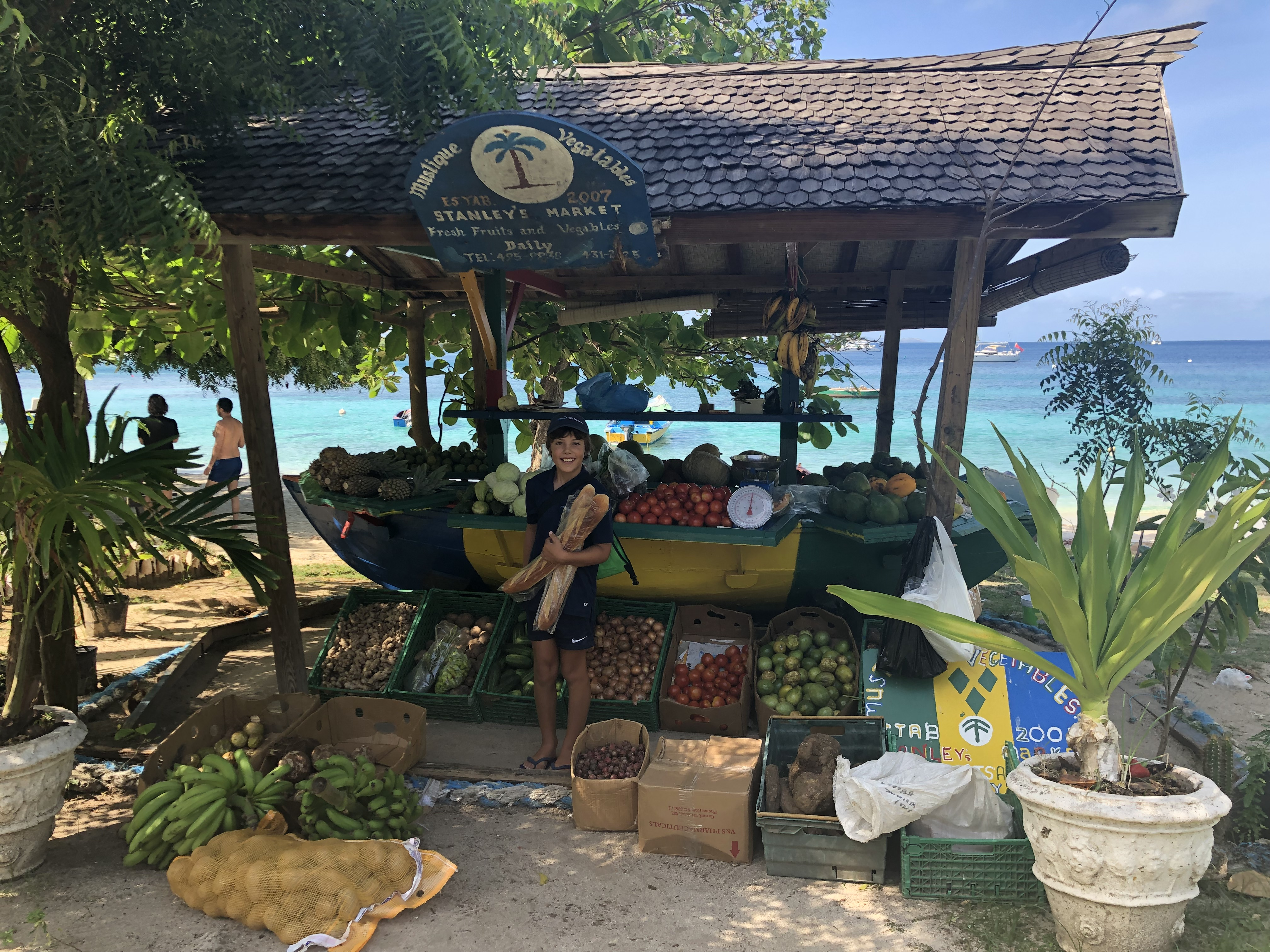 The Fruit Stall in Mustique