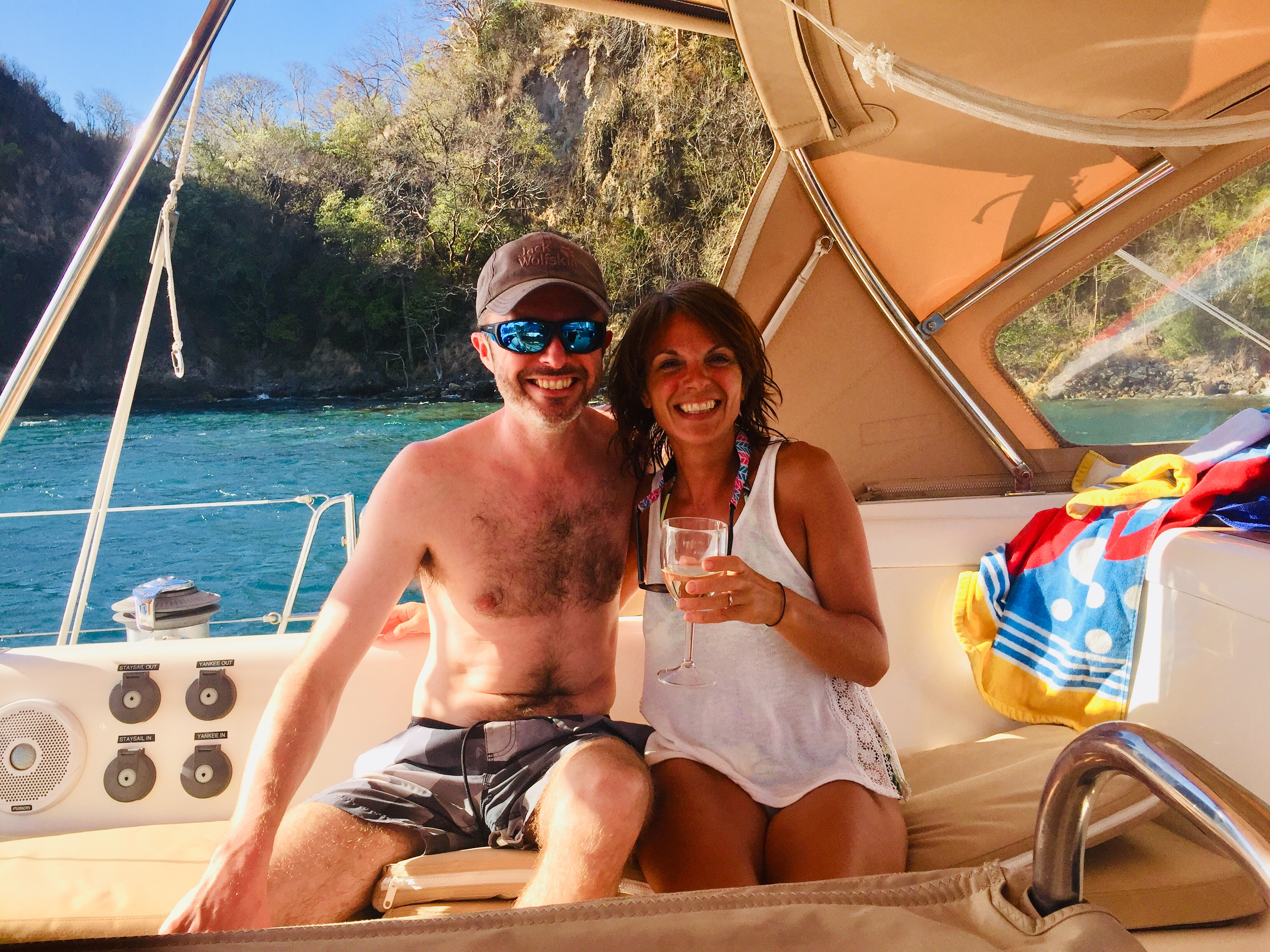 Jo and Rob of Soufriere