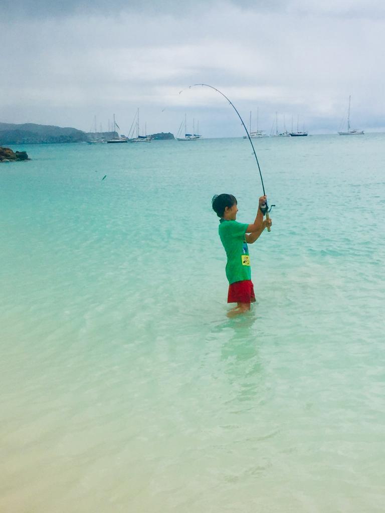 Beach Casting Practice