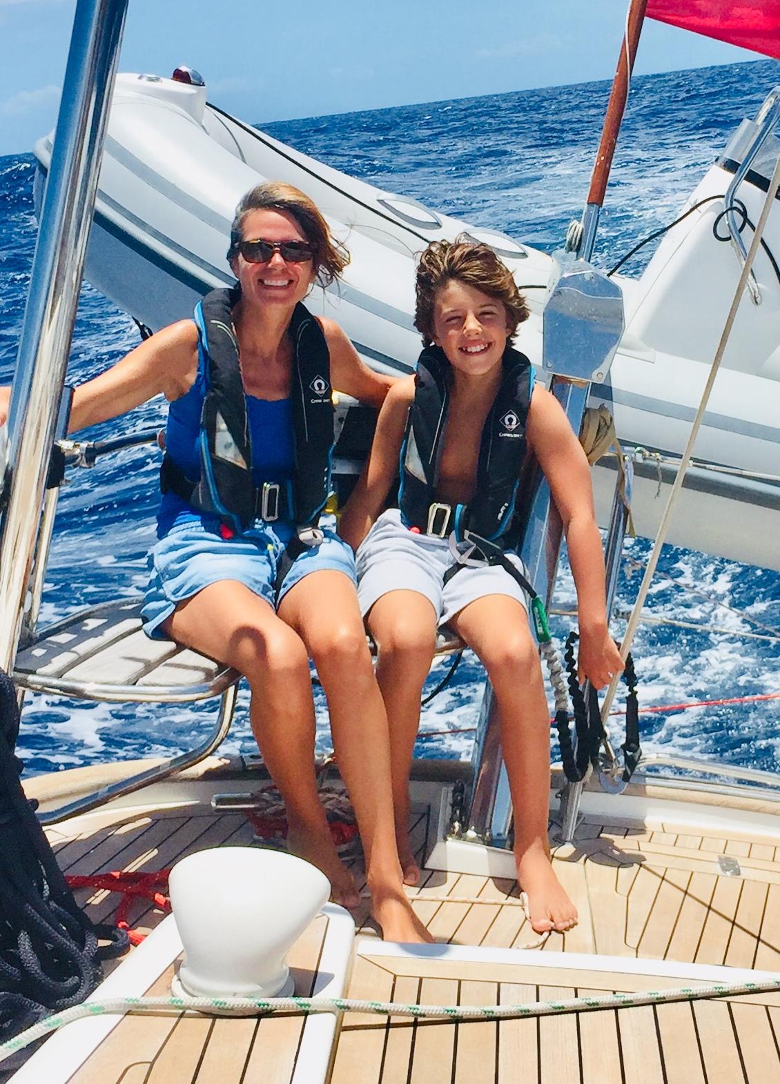 Sailing feels good