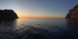 Sunset Cala Tuent
