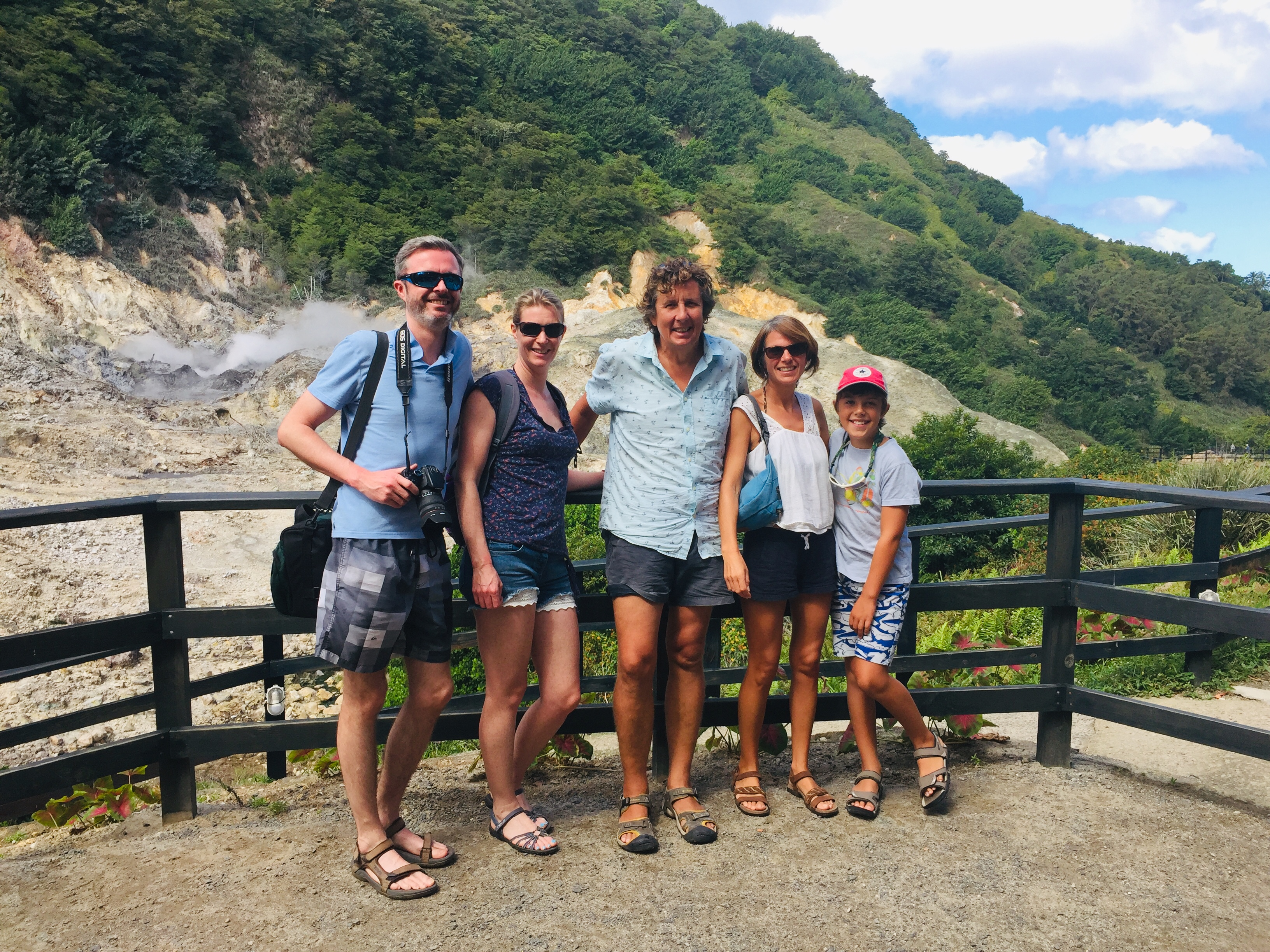 In the Caldera of the Volcano