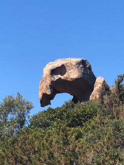 Eagle Head Rock Cala Longa