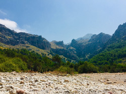 Inland from Cala Tuent