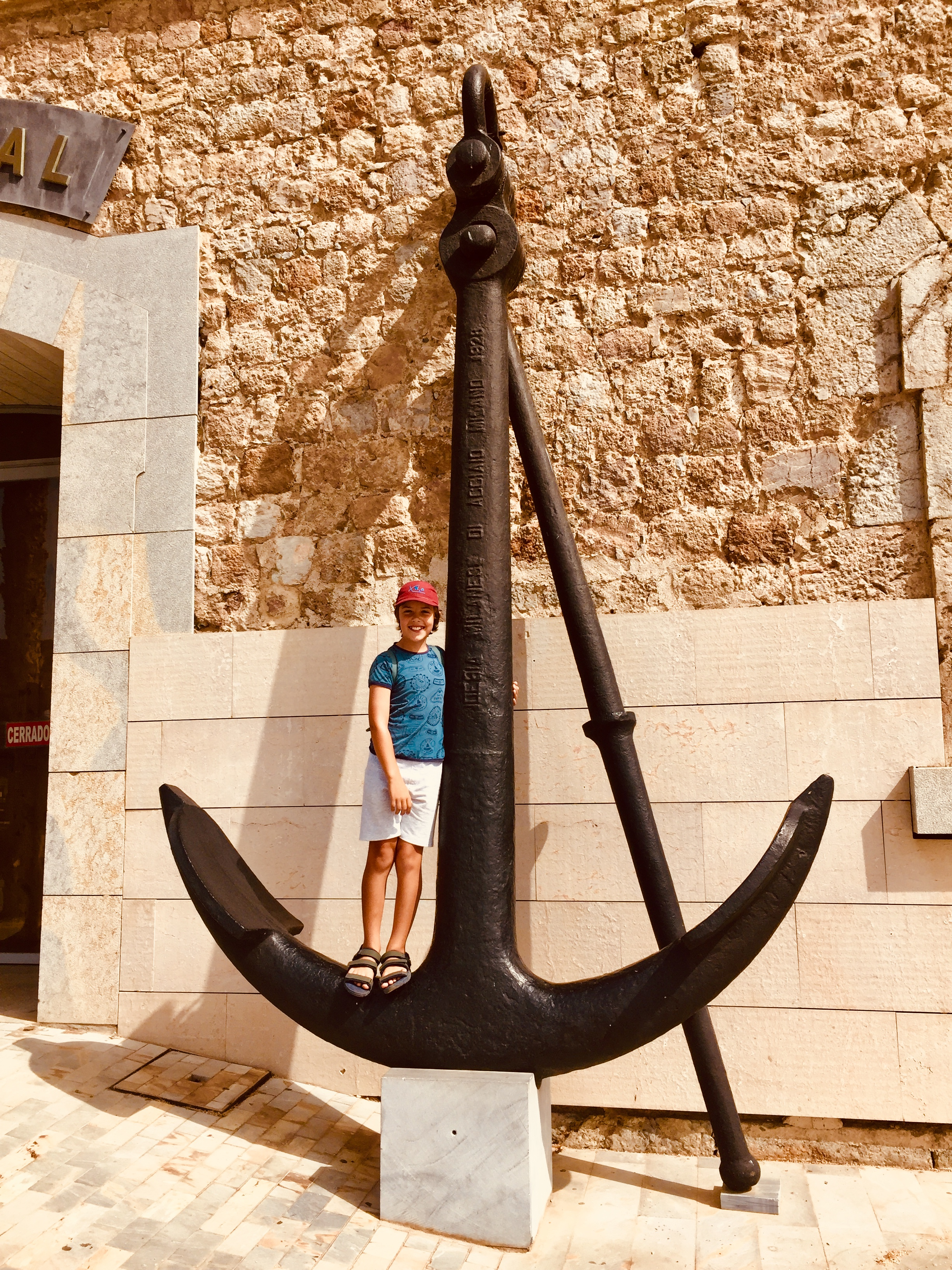 Now that's an anchor