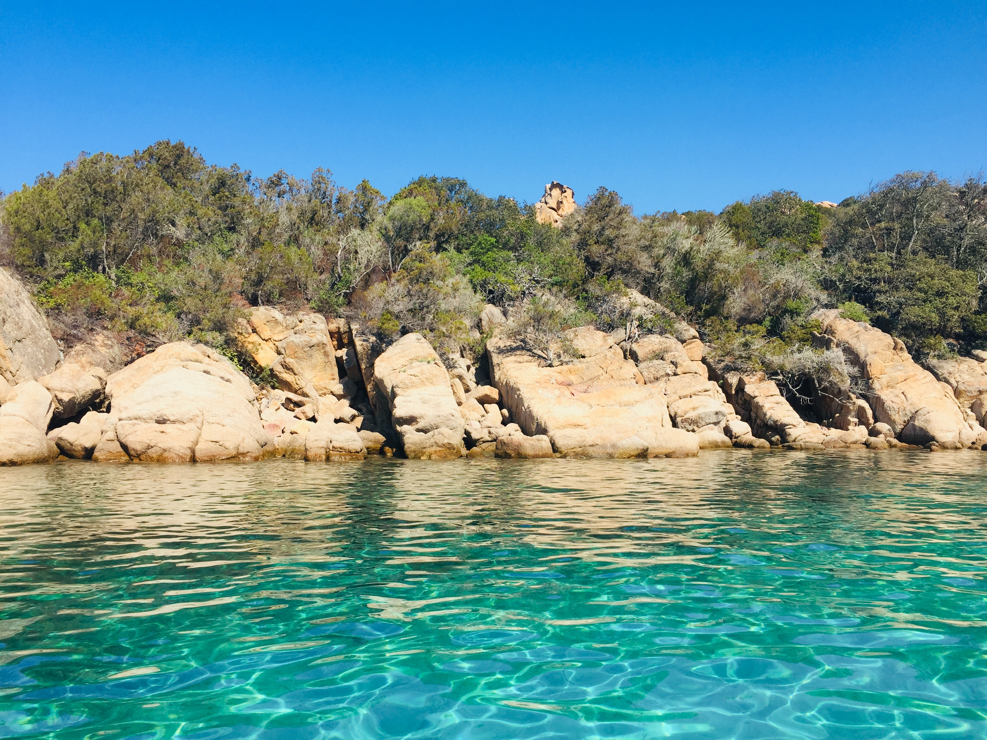 Cala Longa Cove