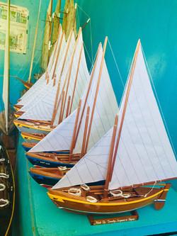 Handmade Model Whaling Boats