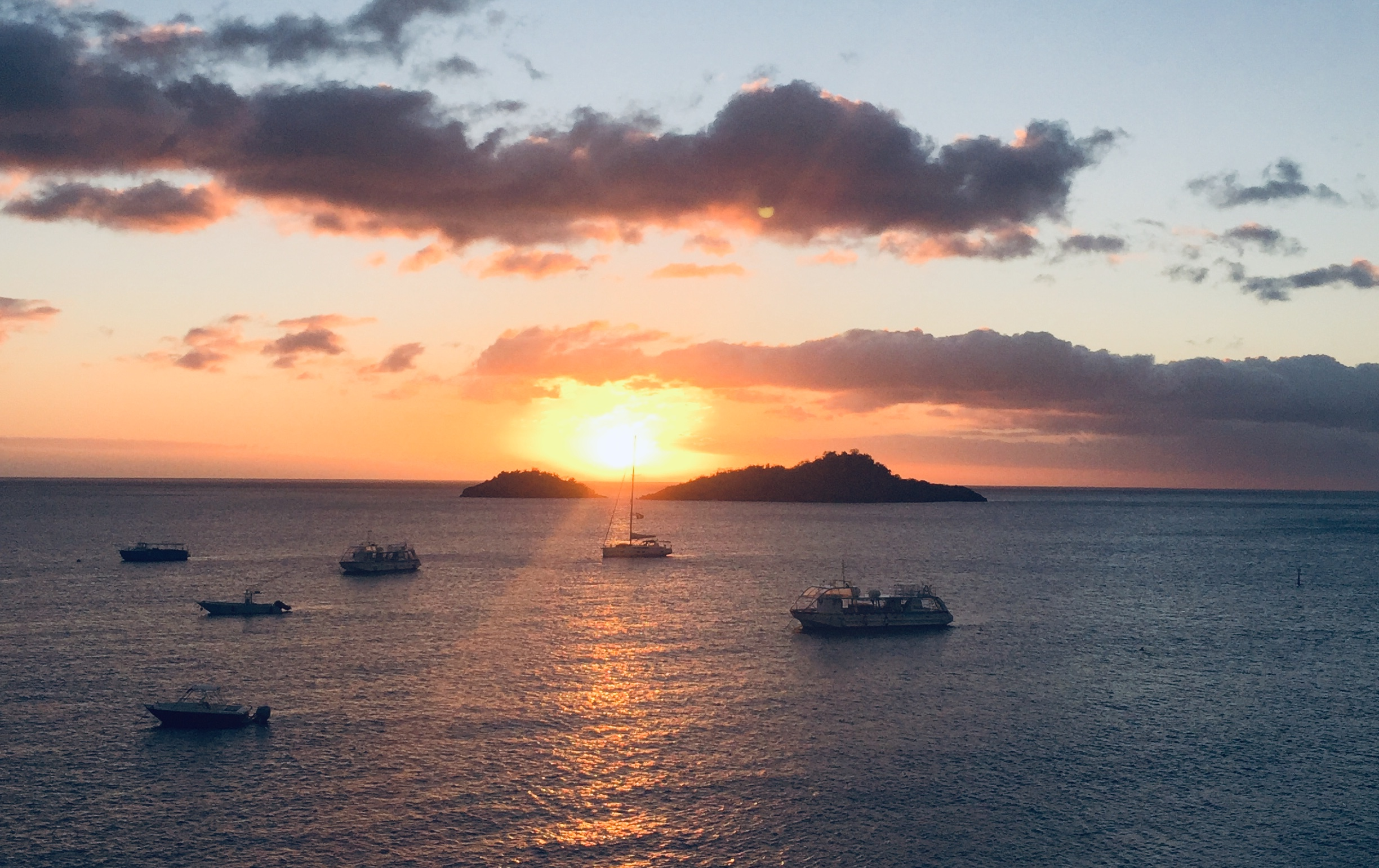 Pigeon Island Sunset - Again!