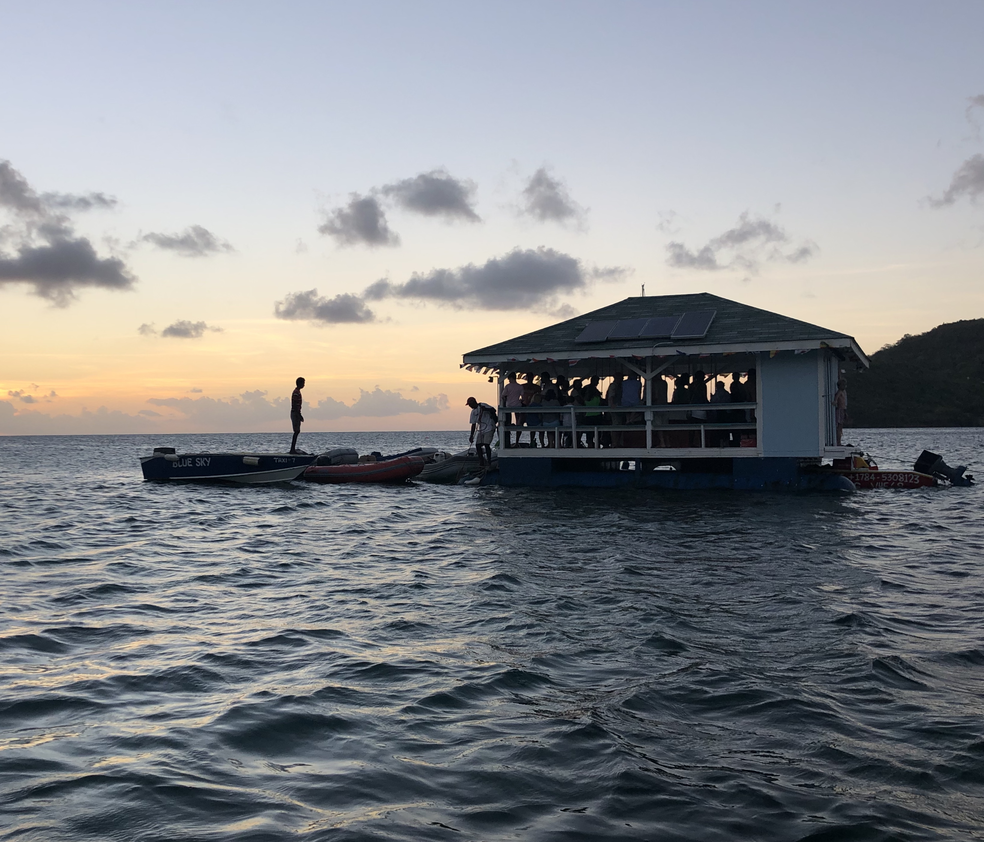 The Floating Bar, Bequia