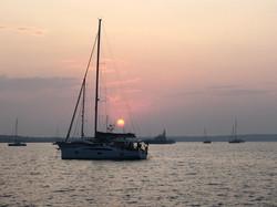 First Sunset i the Balearics