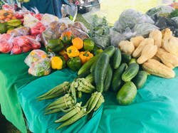 Fresh Provisions at the market