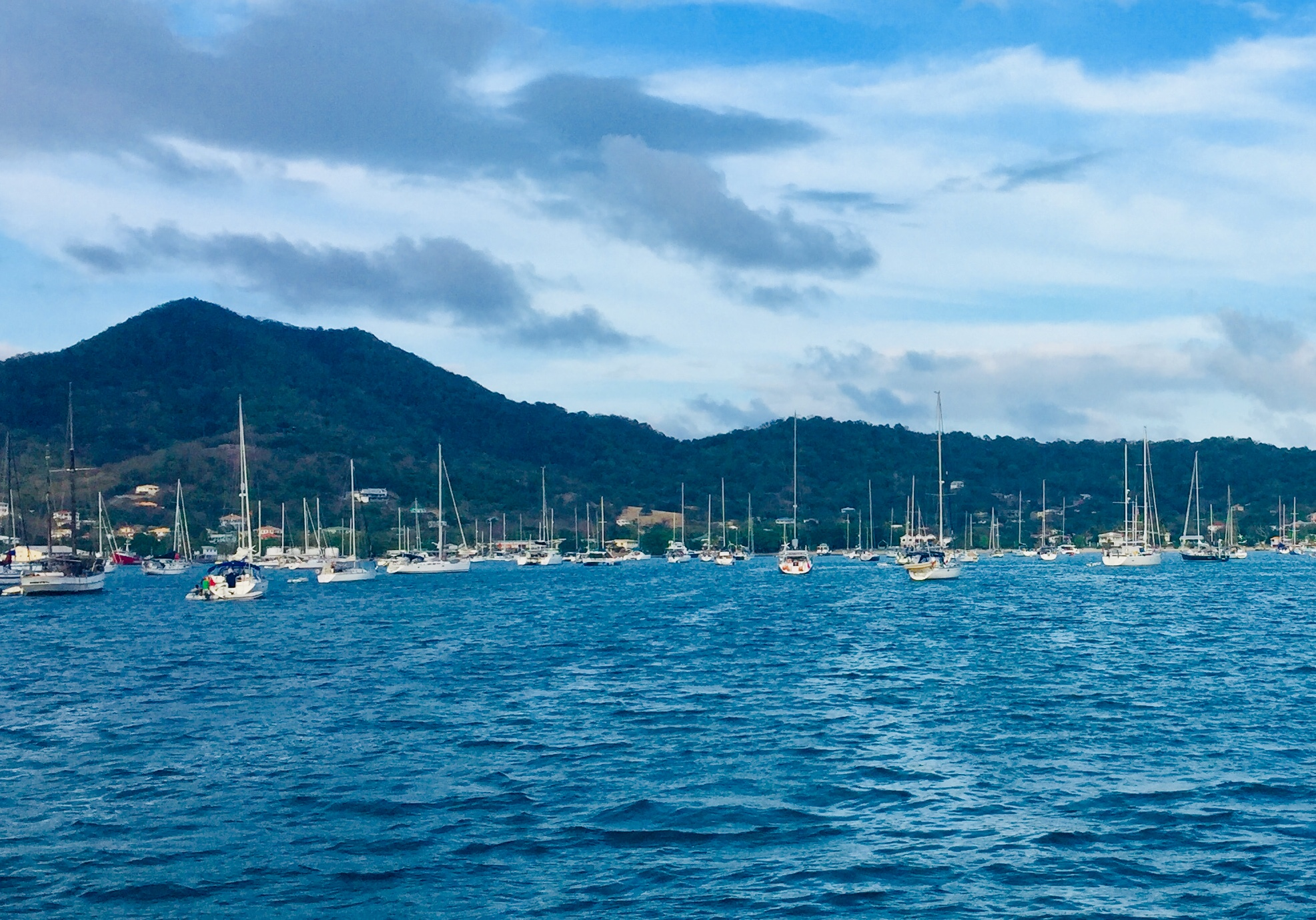 Arrival at Tyrrel Bay, Carriacou
