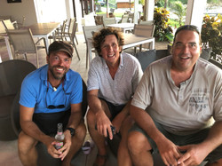 Pepe, Steve and Alf