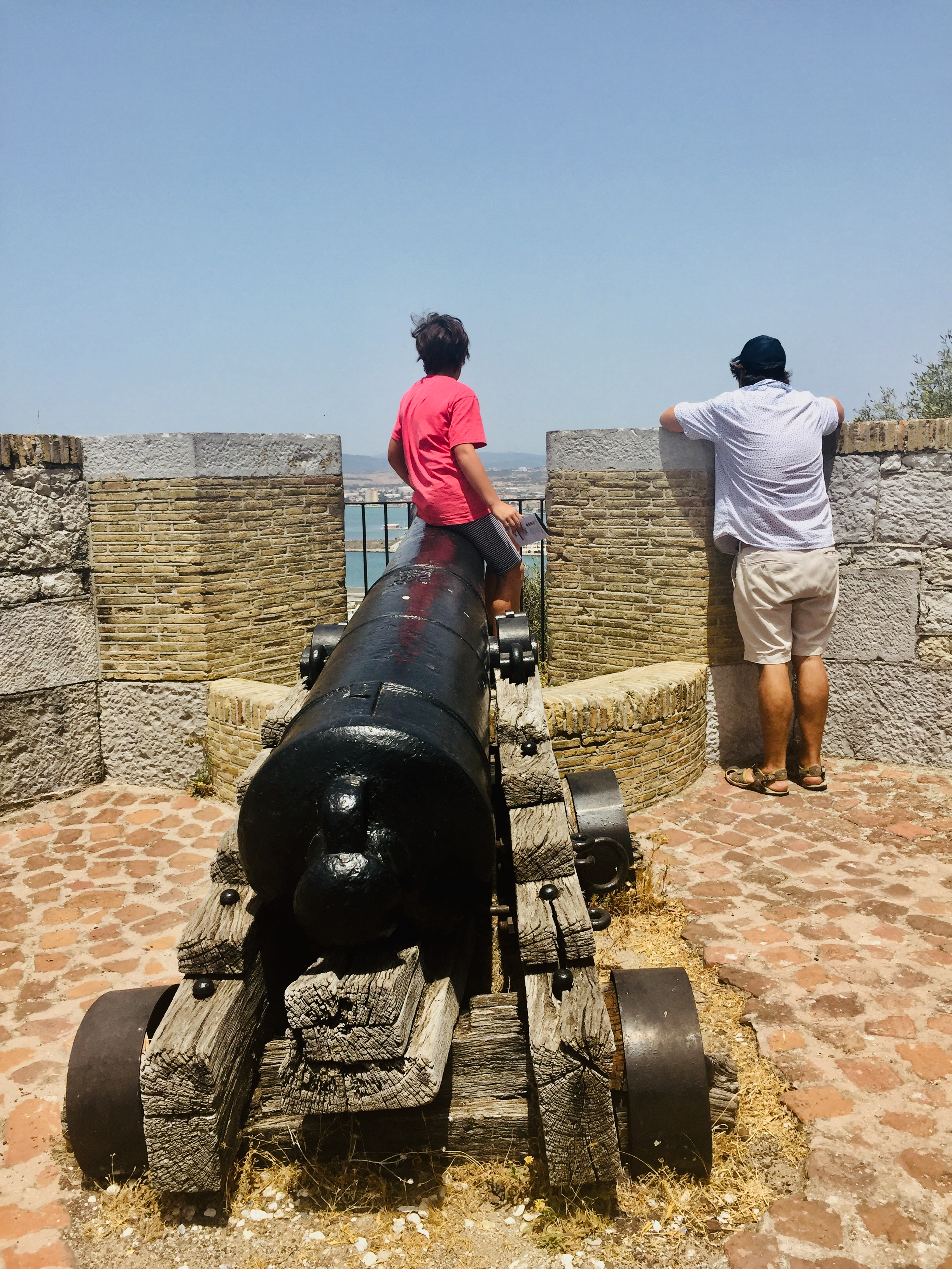 The Moorish Castle Guns