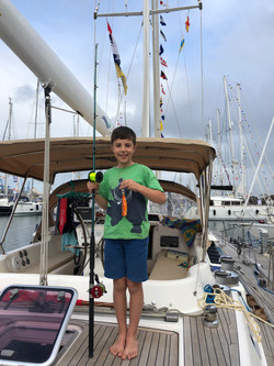 Freddie ready for Big Game Fishing