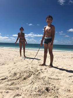 Beach at Coral Group Bay