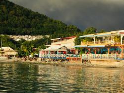 Seafront Restaurants in Deshaies
