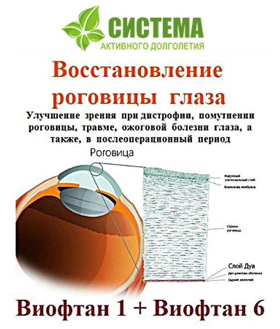 катаракта, глаукома, лечение, костная ткань
