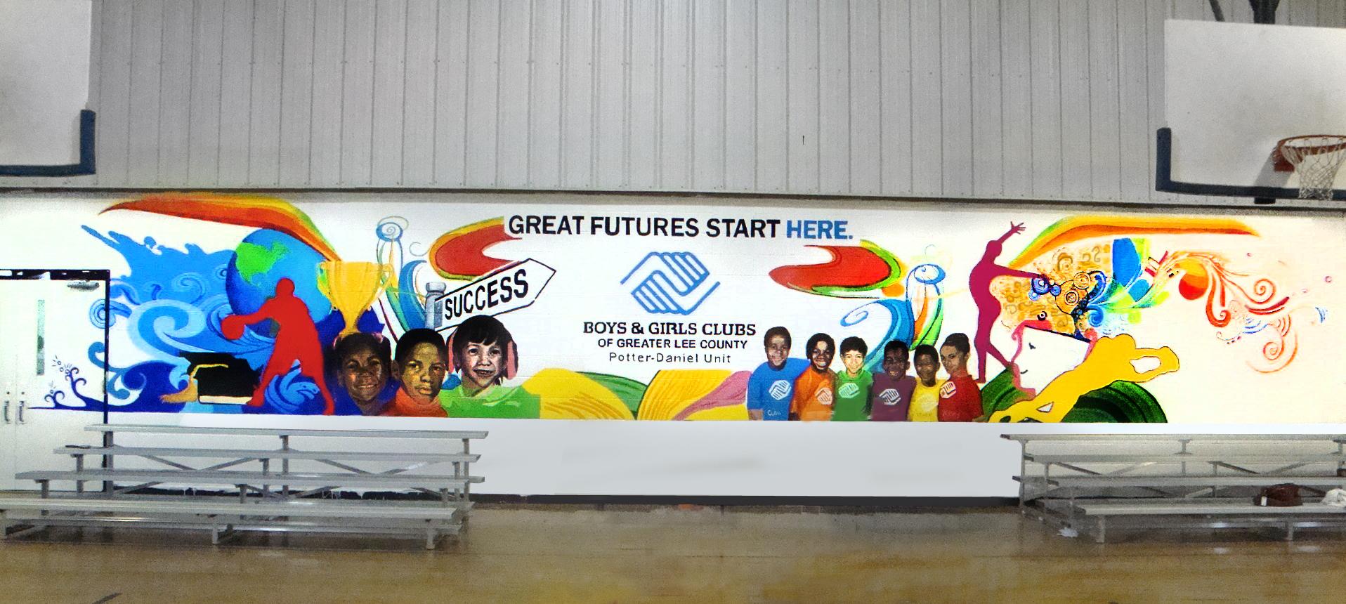 Boys and Girls Club Mural