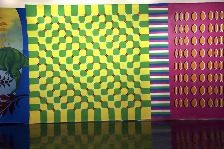 Optical Illusion Wall