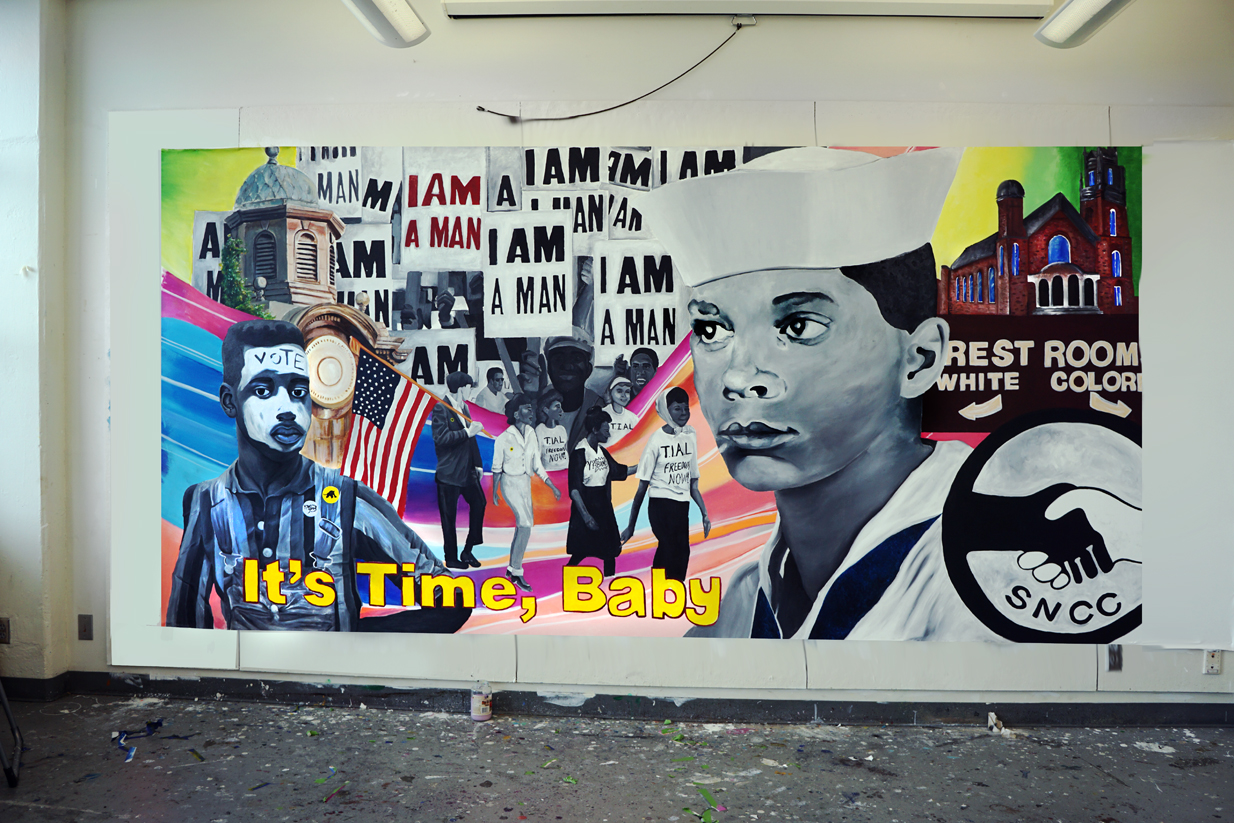 Sammy Younge Mural