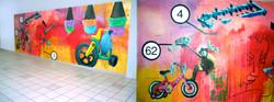 Shopping Center Mural