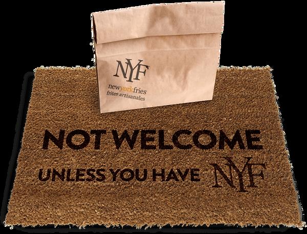 New York Fries door mat image