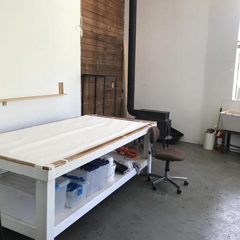 Rodney's Studio at Djerassi