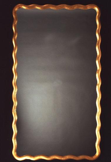 Scallop Rectangular Mirror