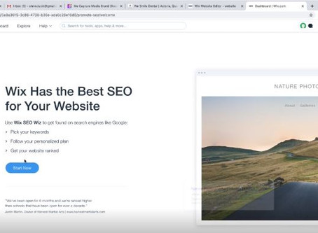 Setting Up SEO in Wix