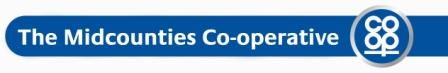 The midcounties co-operative logo