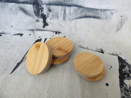 Zefiro Bamboo Mason Jar Lids