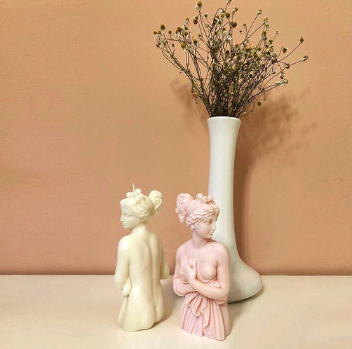 Hot and Vintage | Afrodite Candle Pink