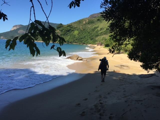 Our trek crosses 14 beautiful and wild beaches in 3 days, like Praia Grande da Cajaiba (1km extension).
