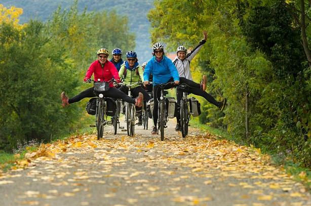 The ViaRhôna Bike Tour, above all a joyful collective adventure !