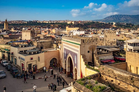 FEZ, Imperial City and 2nd largest city of Morocco